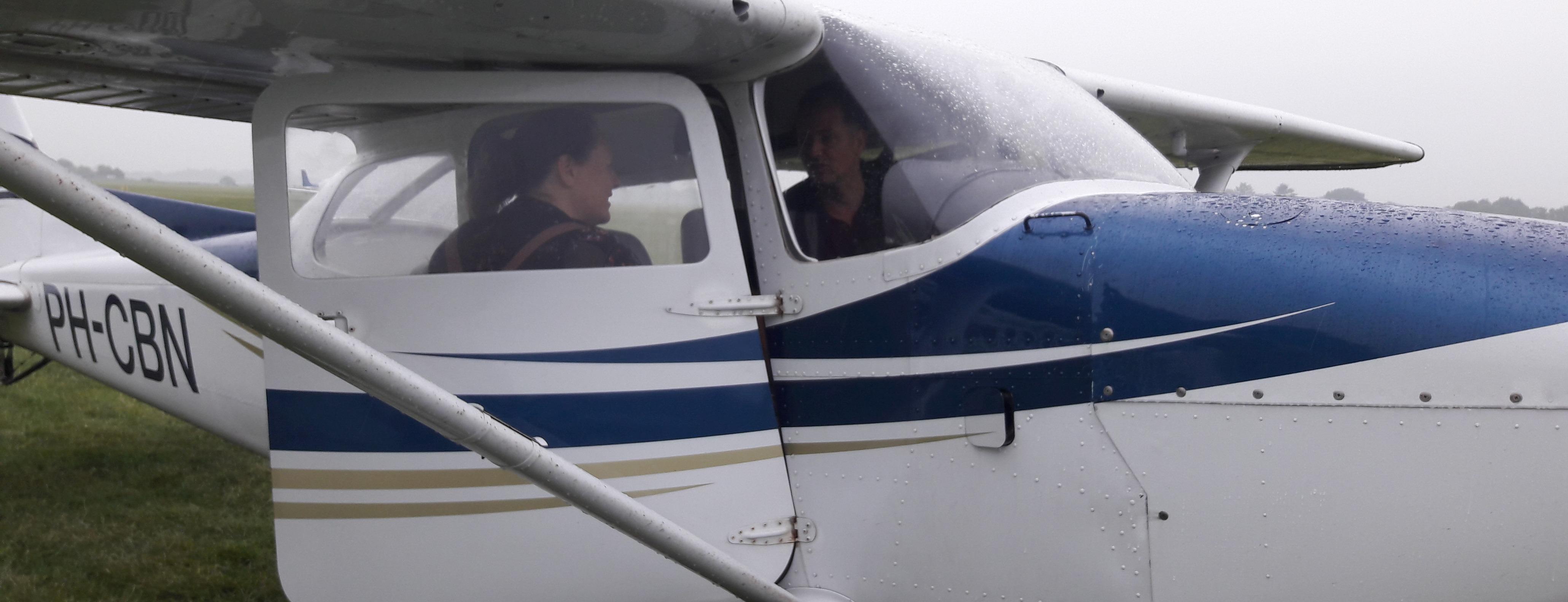 vliegen na burnoutbegeleiding in Hilversum